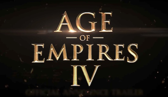 Microsoft announces Age of Empires 4!