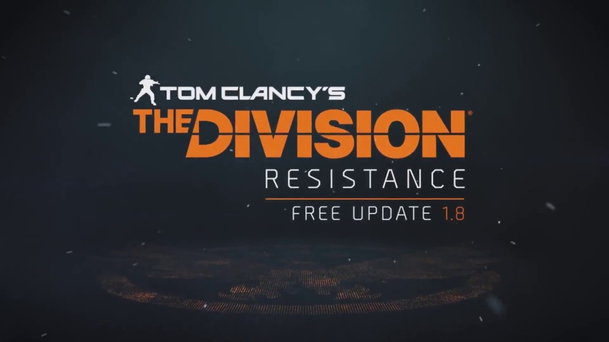 Tom Clancy's The Division announced new free update